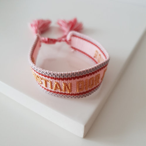 DR Gold Knit Bracelet