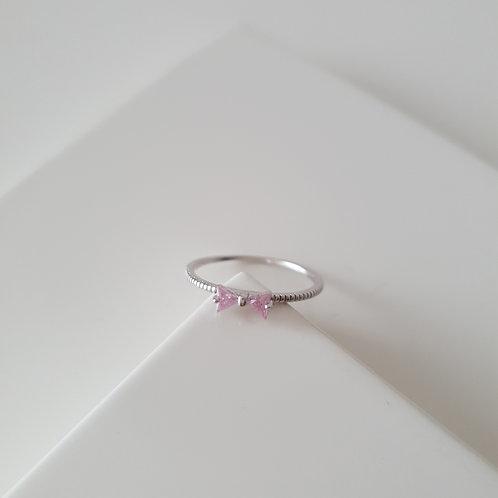 Pink Fiyonk Yüzük