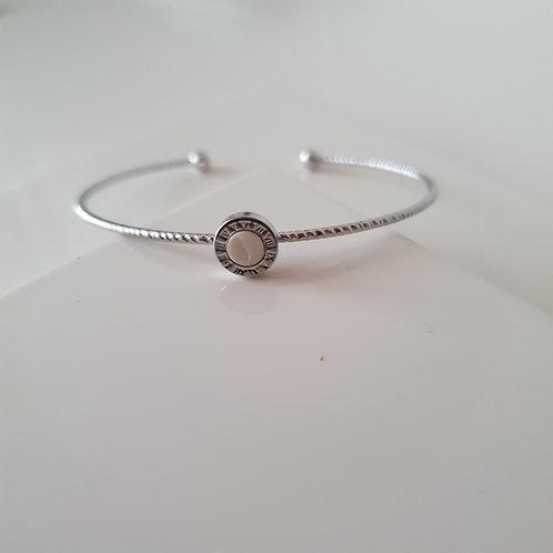 BV Minimal White Bracelet