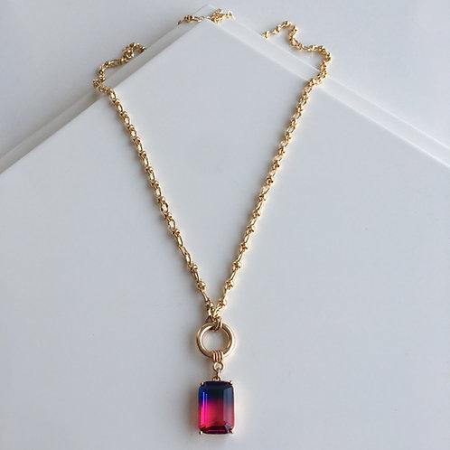 Purple Mystery Necklace