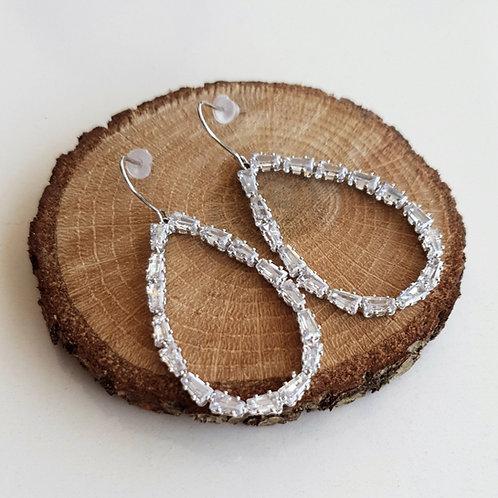Baguette Blob Earrings
