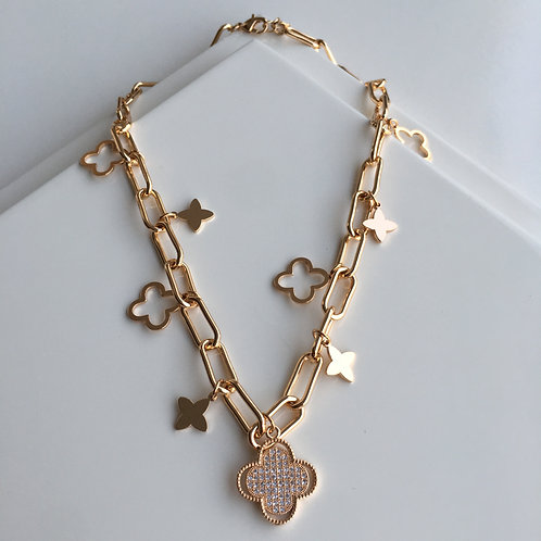 VC Charm Queen Necklace