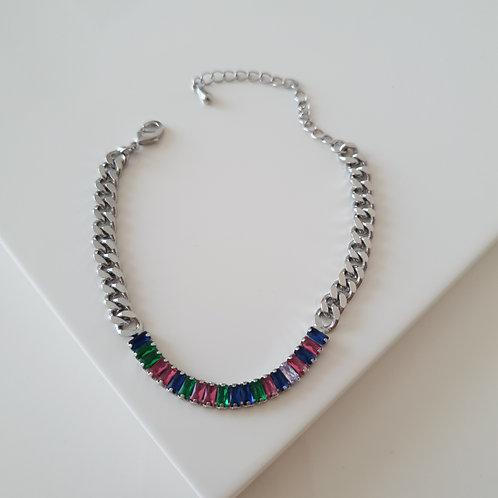 Colorful Imprint Bracelet
