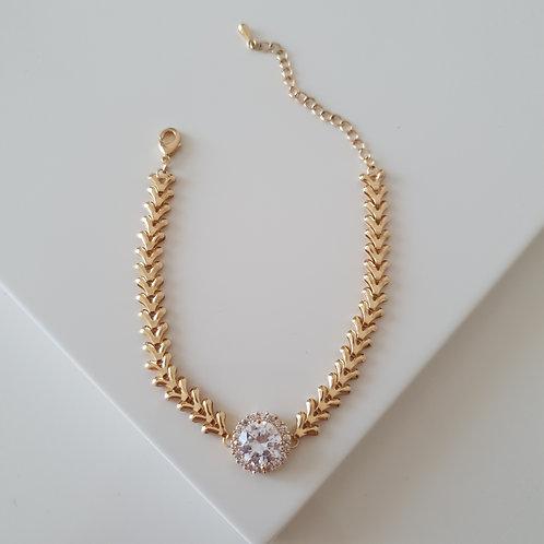 Herringbone II Imprint Bracelet