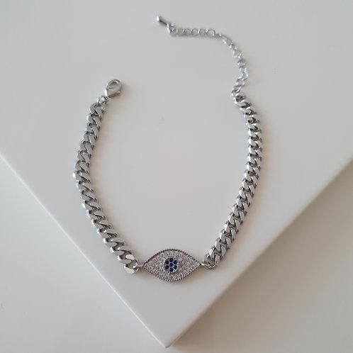 Blue Eye Imprint Bracelet
