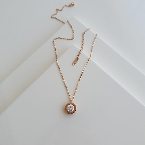 BV Solitaire Necklace