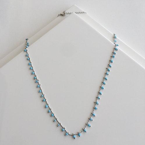 Blue Line Necklace