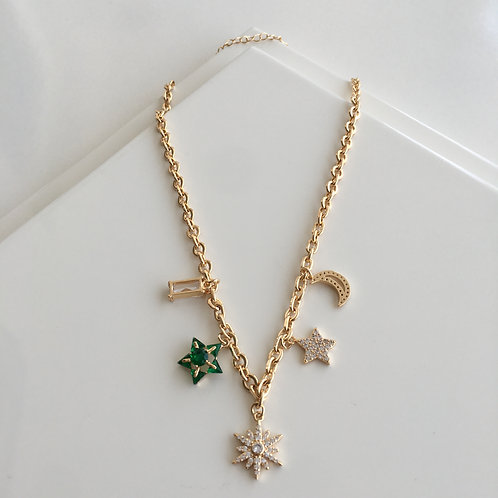 Charm North Star Necklace