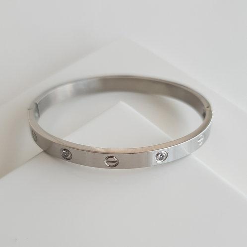 CR Gem Thick Bracelet