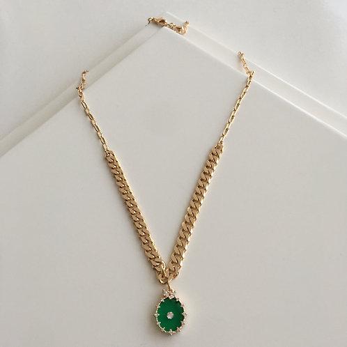 Green Diamond Kolye