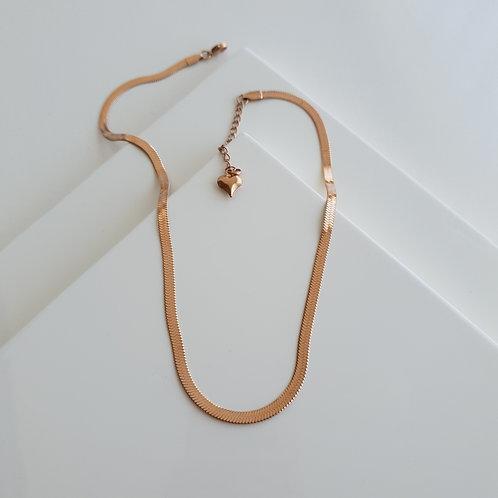 Italian Flat Chain Necklace