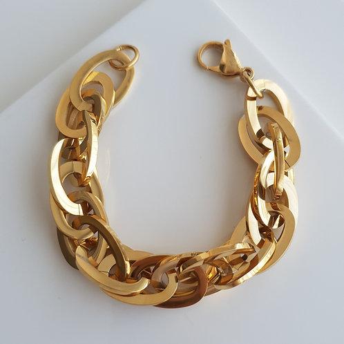 Classic Chain II Imprint Bracelet