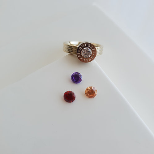 BVG Changeable Gem Ring