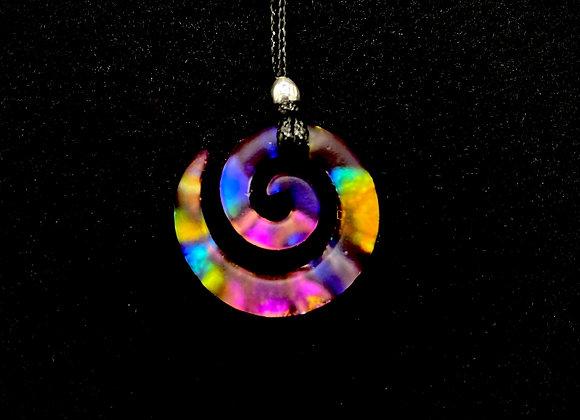 Rainbow Galaxy Spiral - Small