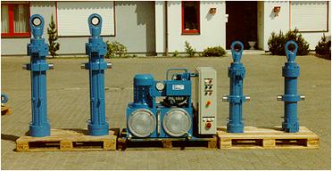 Zylinder und Aggregate