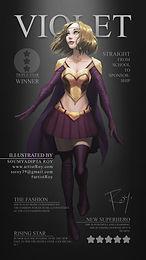 How to Draw Female Superhero ?