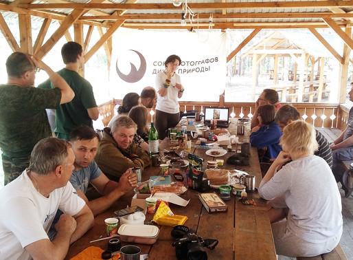 Мастер-класс СФДП в нац парке «Плещеево озеро»