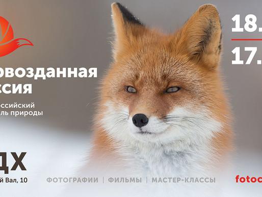 Приглашаем на открытие выставки Первозданная Россия!