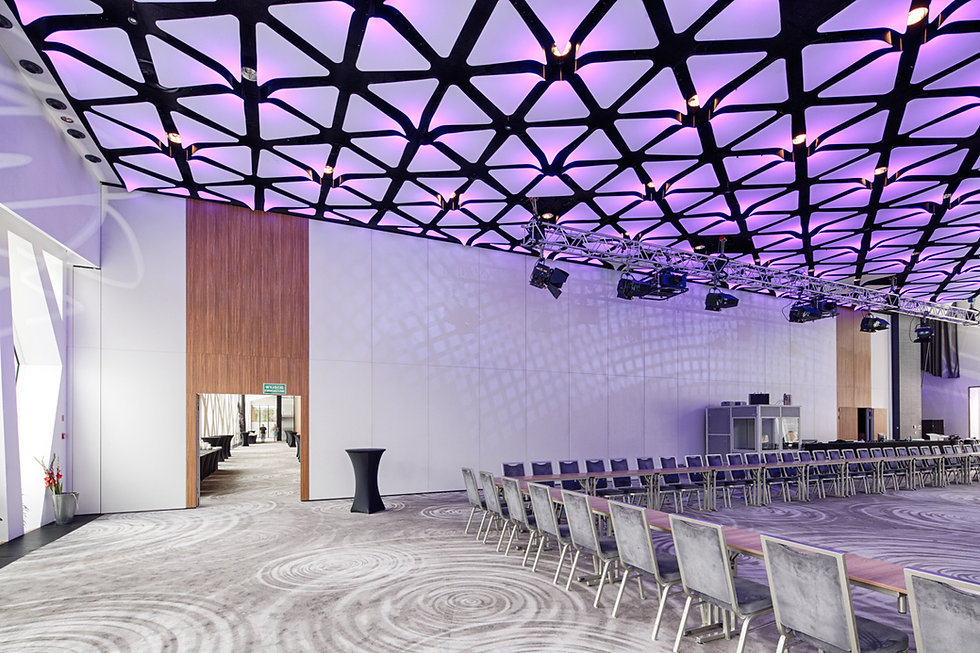 acoustical movable partition wall meeting room