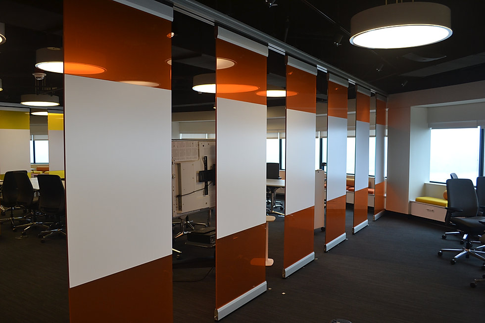 hufcor, glass wall, display glass, moveable wall, partition, malaysia