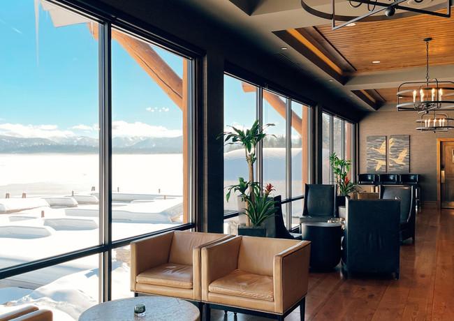 The Bar at Shore Lodge Resort and Spa.