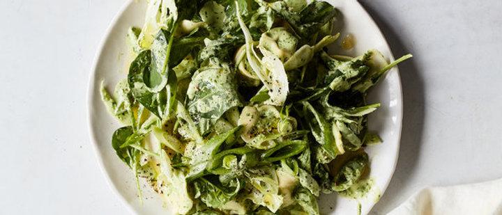 The Green Goddess Salad