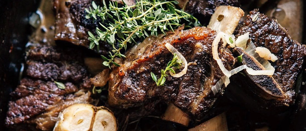 Red Wine and Chile Braised Short Ribs