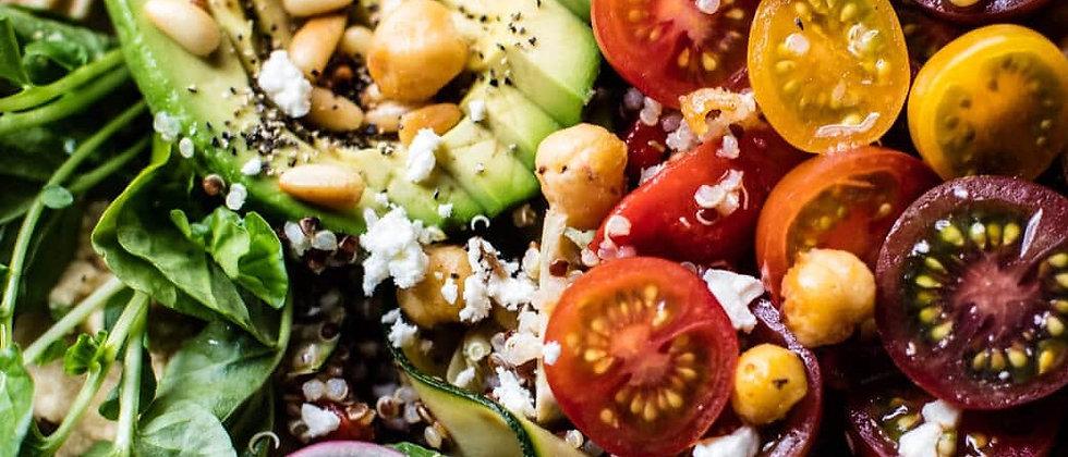 Ohana No-Till Greek Quinoa Bowl
