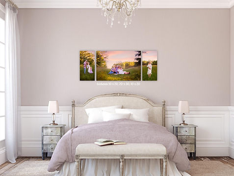 wall art, canvas, photographs, bedroom