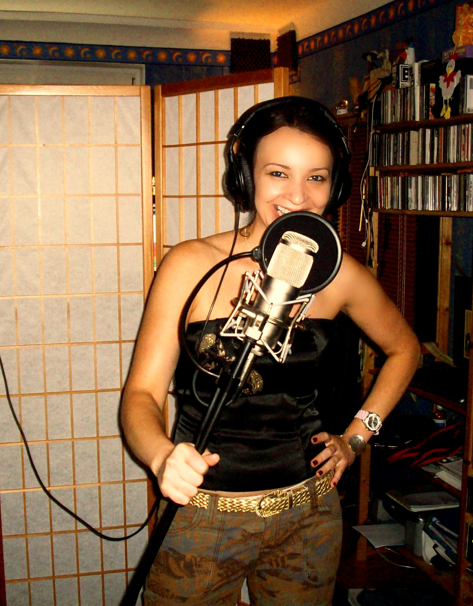 First Studio Recording Experience