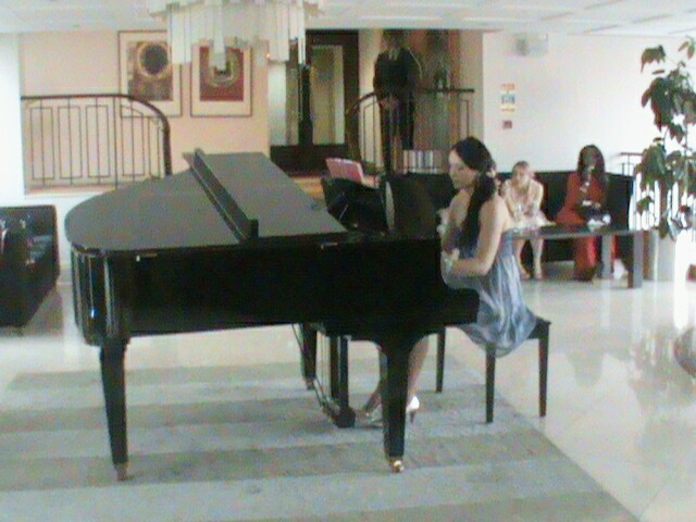 Piano Playing in the Crown Hotel