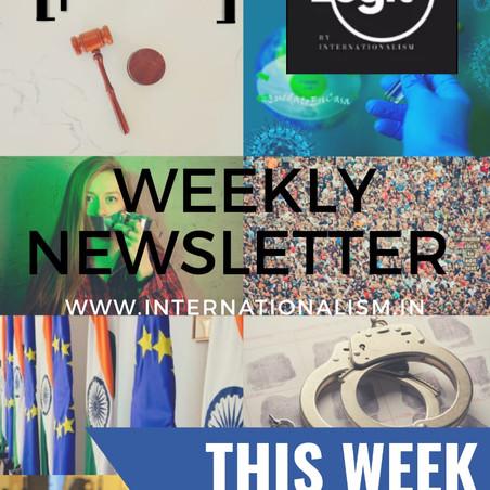WEEKLY NEWSLETTER | LEGIT BY INTERNATIONALISM