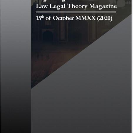 LEGIT ORIGINALS: 15 SEPTEMBER – 15 OCTOBER 2020 (MONTHLY ISSUE)