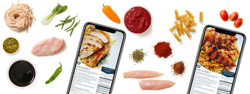 Prep Kit Tailored to fit nutriton recipe