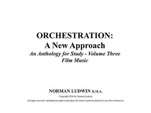 Anthology Volume Three-Music for Film