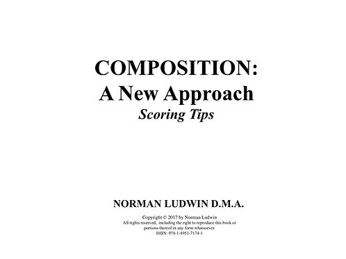 A New Approach-Scoring Tips