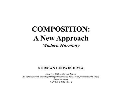 Modern Harmony Book