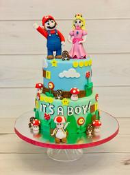 Mario & Princess Cake