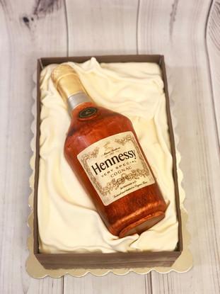 50th Bday Hennessy Cake