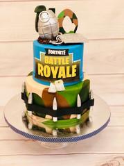 Fortnite Battle Royale Cake