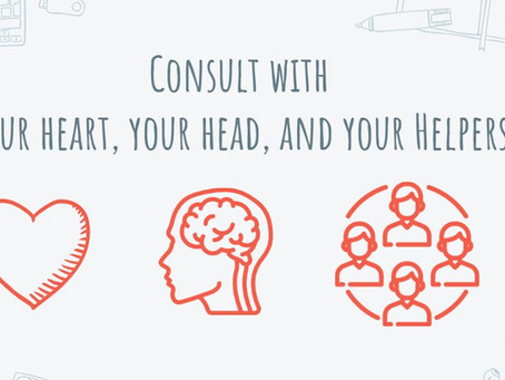 Don't Fall Victim to Internet Scams: Consult with your Heart, your Head, & your Helpers!