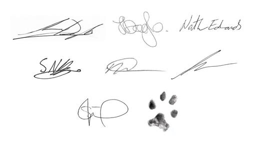 Staff Signatures