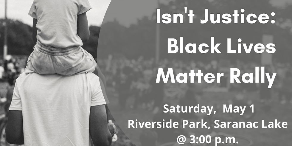 A Conviction Isn't Justice: Black Lives Matter Rally