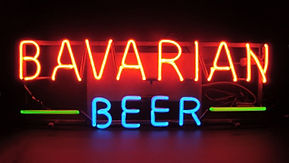 Early Bavarian Beer Neon Sign, c. Late 1930s..