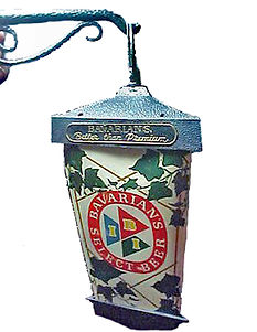 Lantern Style Bavarian/s Select Beer Lighted Sign by IBI.