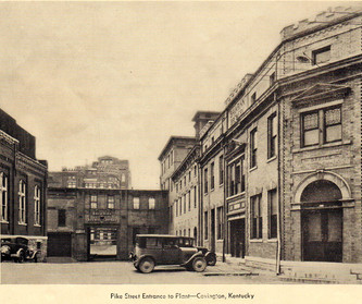 Bavarian Brewing Co. Entrance in 1932.