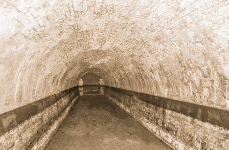 Bavarian Brewer Lager Cellar Tunnel.
