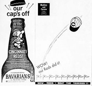 BAVARIAN'S SELECT BEER AD. Nearly 100 Years to Brew. Bavarian Brewing Co., Covington, KY