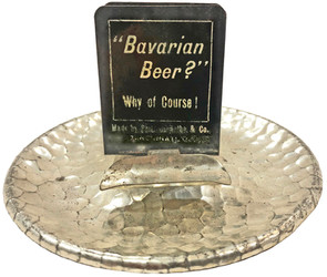Bavarian Beer Of Course Ashtray Silver 2