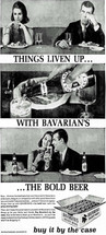 Ad for Bavairan/s Select Beer; the Bold Beer.